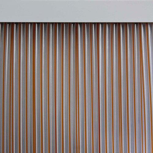 Cortina de puerta amarillo mijares de 90 x 210 cm