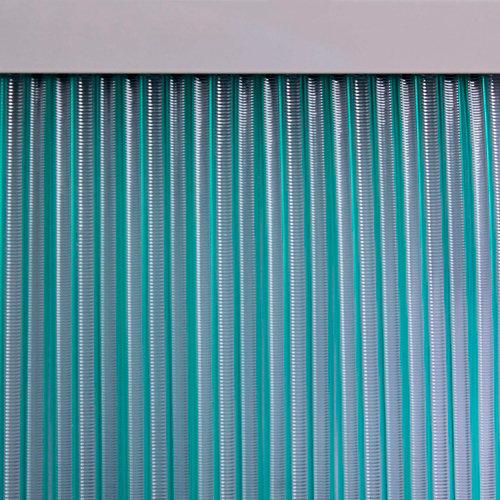 Cortina de puerta verde mijares de 90 x 210 cm