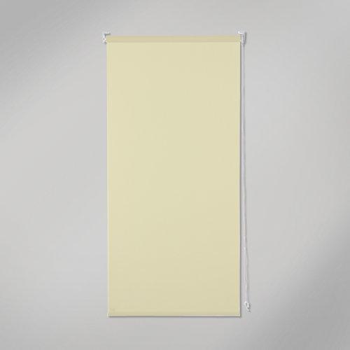 Estor enrollable opaco black out beige de 105x250cm