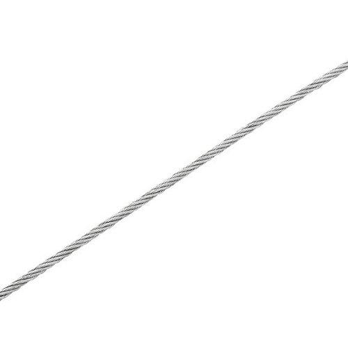 Cable elevación de acero de 2mm de ø y 15 m de longitud