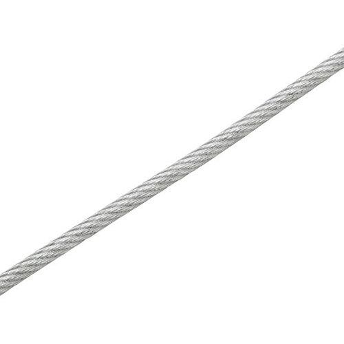 Cable de acero de 2.9mm de ø y 15 m de longitud