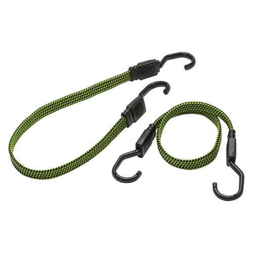 2 cable elástico de caucho natural de 18 mm de ø y 0.6 m de longitud