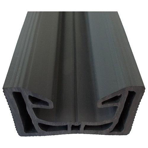 Travesaño para suelo plástico ancho de 2.7 cm y largo de 2.3m