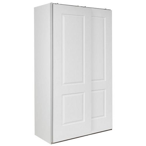 Puerta corredera de armario marsella blanco de 60x228 cm