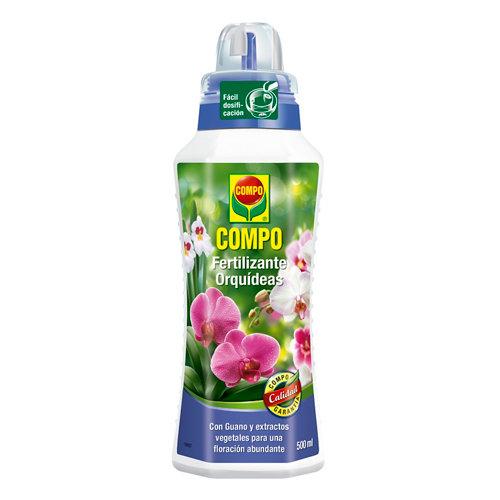 Fertilizante para orquídeas compo con guano para favorecer la floración 500ml