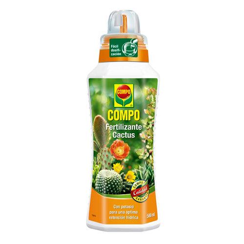 Fertilizante para cactus y plantas crasas compo 500ml