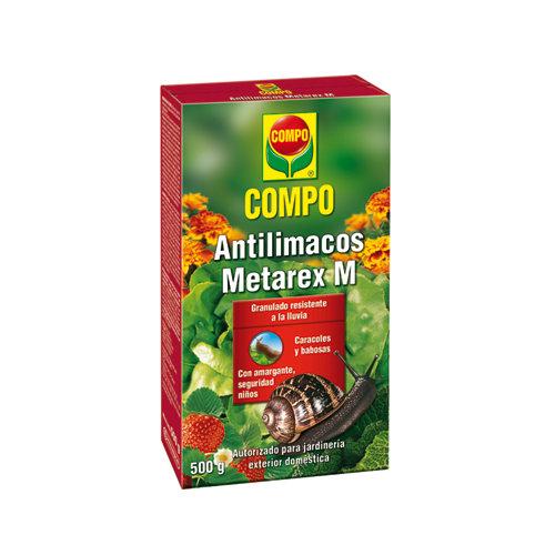 Antilimacos compo metarex contra plagas de babosas, caracoles y limacos 500gr