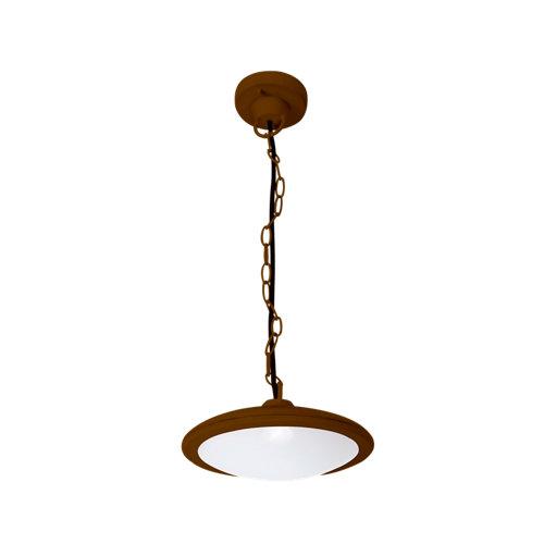 Lámpara de techo basic merrón