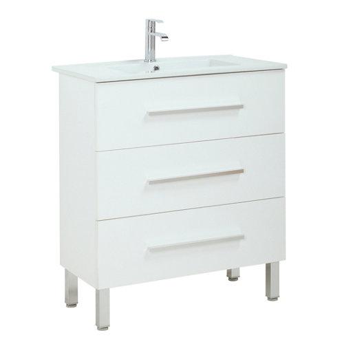 Mueble De Baño Madrid Blanco 60 X 40 Cm