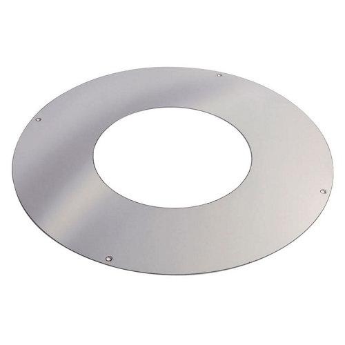 Embellecedor de acero inoxidable de 150 de diámetro