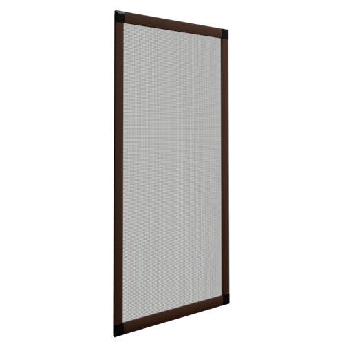 Mosquitera ventana corredera de color bronce de 120x120 cm (ancho x alto)