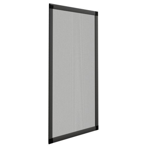 Mosquitera ventana corredera de color gris 7011 de 90x140 cm (ancho x alto)
