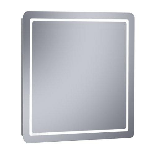 Espejo de baño con luz led kea 70 x 80 cm