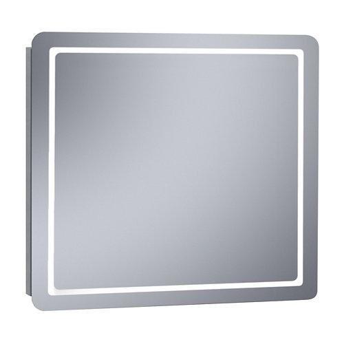 Espejo de baño con luz led kea 100 x 80 cm