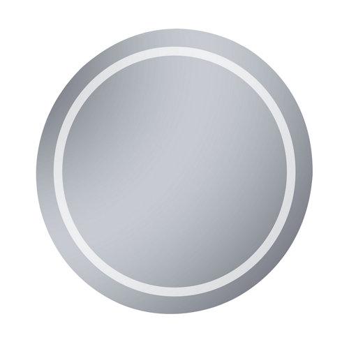 Espejo de baño con luz led iris 80 x 80 cm