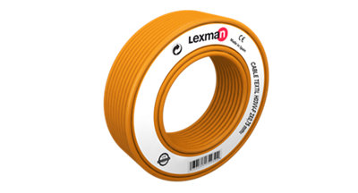 Manguera textil LEXMAN H03VV-F oro 2x0,75 mm² 3 m