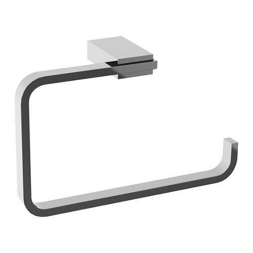 Toallero kansas gris / plata brillante 20x12.7 cm