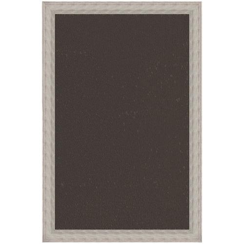 Alfombra marrón pvc archi 120 x 120cm
