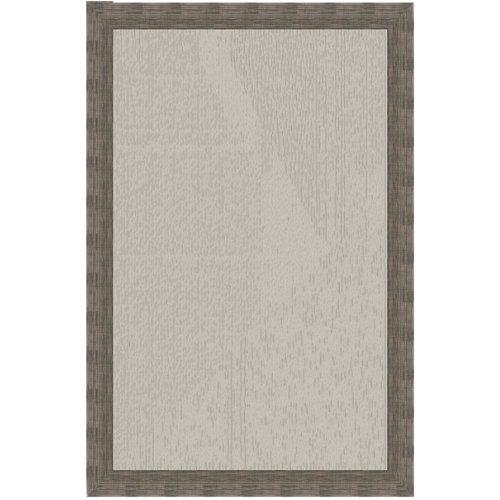 """""""Alfombra de exterior rectangular de color marrón fabricada en vinilo. Ideal para salón. Medidas: 220 x 300 cm (ancho x alto)."""