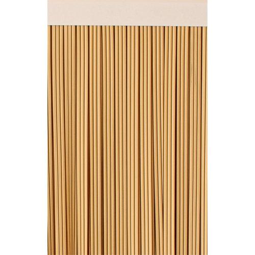 Cortina de puerta beige mijares de 90 x 210 cm