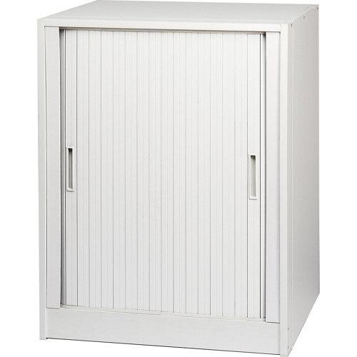 Armario bajo resina thetris de 92x70x60 cm para uso interior blanco