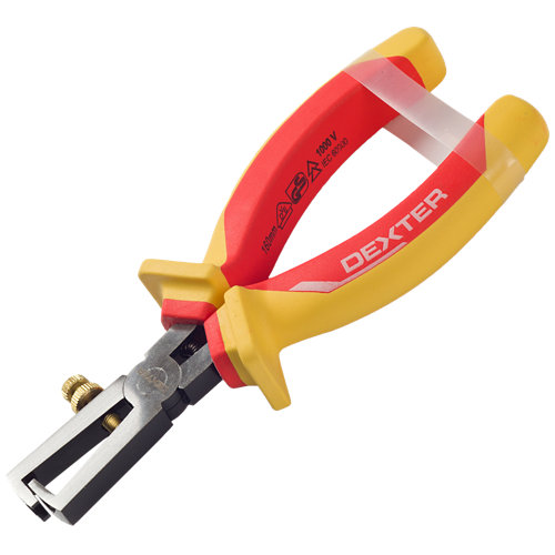 Pinza pelacables dexter para cables de 4 mm con pinza coaxial