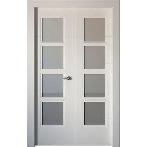 puerta holanda blanco de apertura izquierda de 125 cm