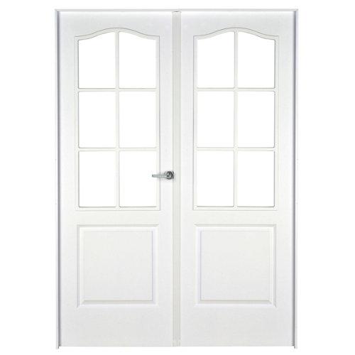 puerta praga blanco de apertura izquierda de 125 cm