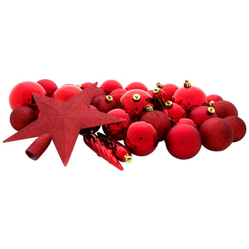 Set 33 bolas + estrella rojo