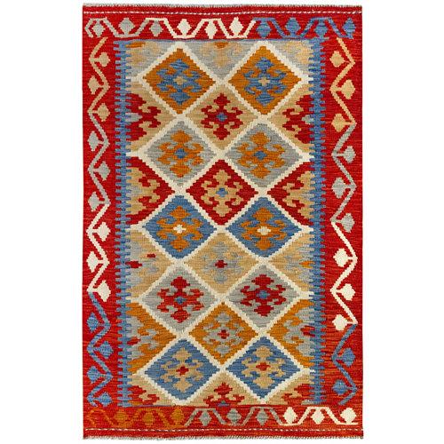 Alfombra de lana kilim herat 100x150 cm