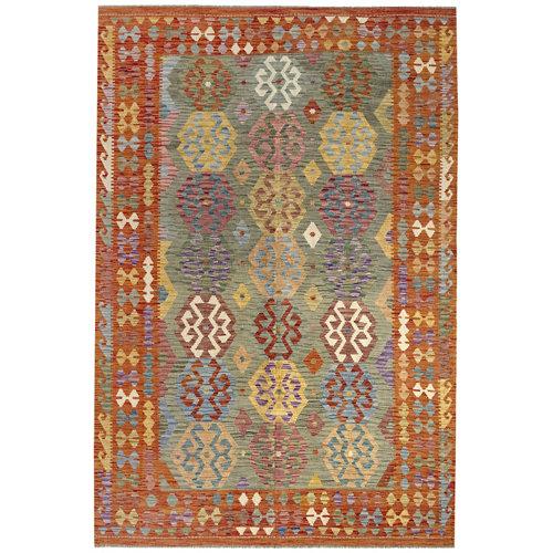 Alfombra de lana kilim herat 200x300 cm