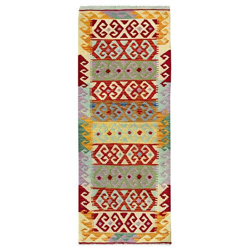Alfombra de lana kilim herat 70x200 cm