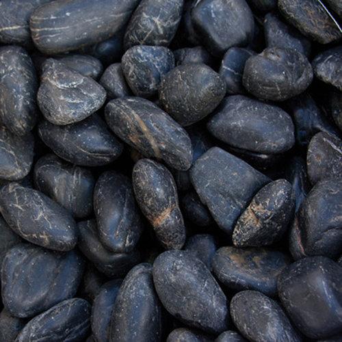 Saco de cantos rodados negro 20kg 18 y 25 mm