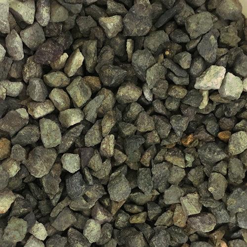 Saco de piedra natural triturada verde 1000kg 10 y 18 mm