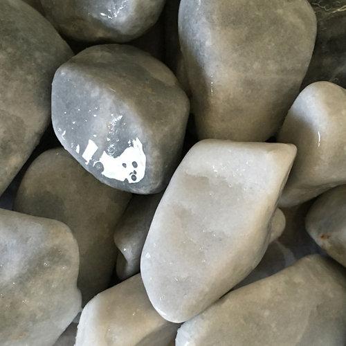 Saco de cantos rodados gris 1000kg 40 y 60 mm