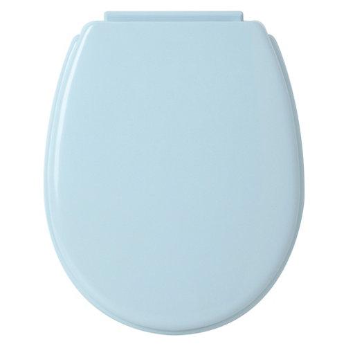 Tapa wc lunel moonlight azul liso