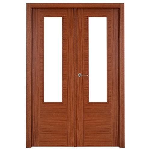 puerta niza sapelly de apertura derecha de 125 cm