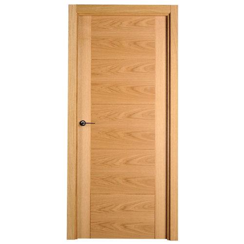 puerta noruega roble de apertura derecha de 82.5 cm