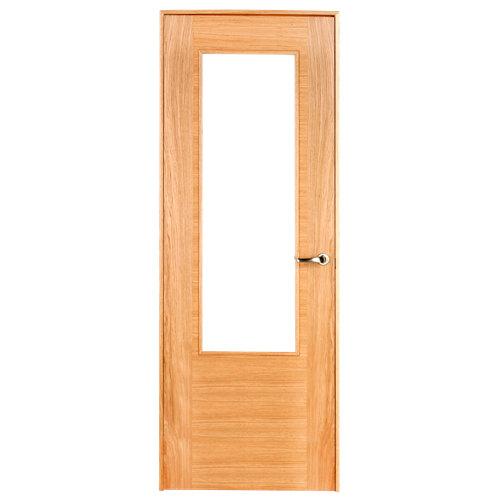 puerta niza roble de apertura izquierda de 62.5 cm