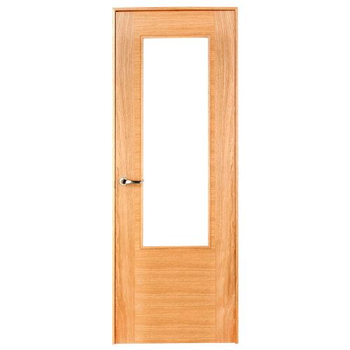 puerta niza roble de apertura derecha de 62.5 cm