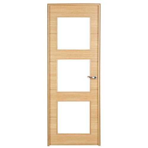 puerta viena roble de apertura izquierda de 82.5 cm