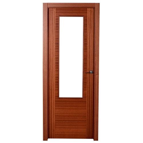 puerta niza sapelly de apertura izquierda de 72.5 cm