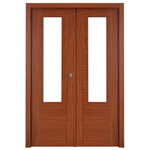 puerta niza sapelly de apertura izquierda de 125 cm