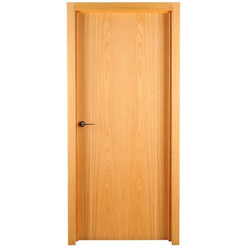 puerta sidney roble de apertura derecha de 72.5 cm