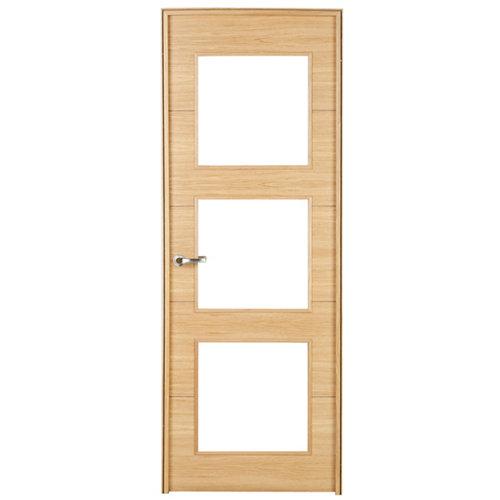 puerta viena roble de apertura derecha de 62.5 cm