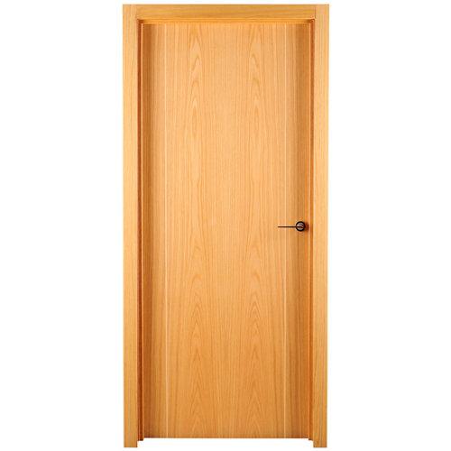 puerta sidney roble de apertura izquierda de 72.5 cm