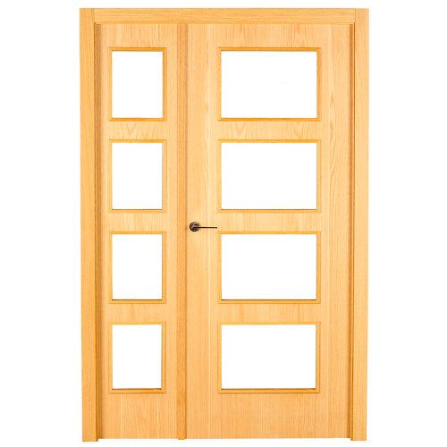 puerta sidney roble de apertura derecha de 105 cm