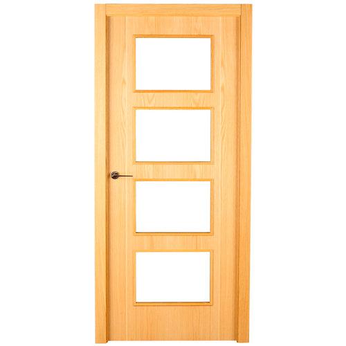 puerta sidney roble de apertura derecha de 62.5 cm