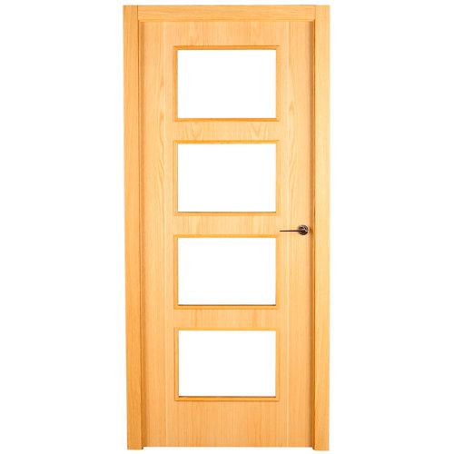 puerta sidney roble de apertura izquierda de 62.5 cm