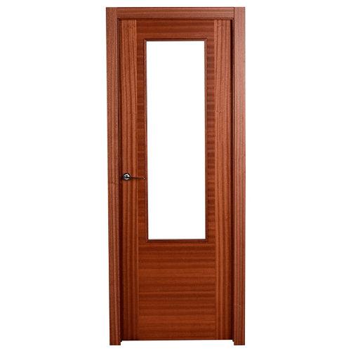 puerta niza sapelly de apertura derecha de 62.5 cm